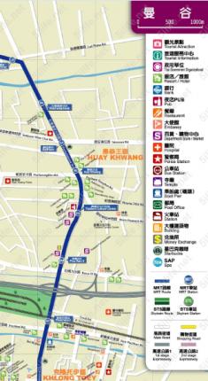 泰国曼谷地图高清中文版下载jpg格式打印版