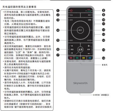创维50e30mg彩色液晶电视使用说明书pdf电子版