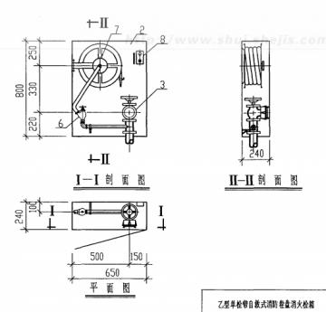 99s202室内消防栓安装图集(高清版)pdf格式免费版