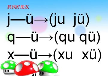 汉语拼音j q x ppt课件【小学一年级语文】免费下载图片