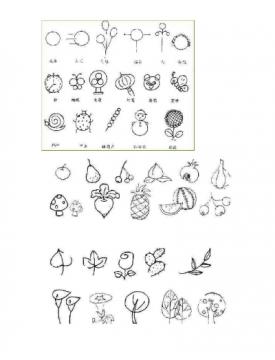 儿童简笔画图片大全(动物植物)pdf免费下载