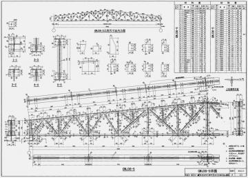 梯形钢屋架图集pdf