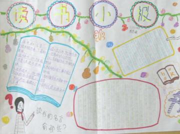 读书手抄报版面设计图大全pdf格式【读书手抄报内容资料】