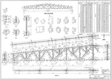 轻型屋面梯形钢屋架