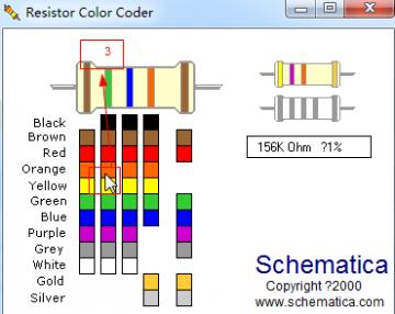 色环电阻计算_色环电阻值计算器(resistor color coder)1.0 最新免费版