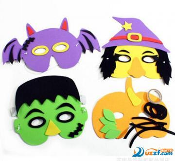 儿童万圣节面具制作大全|万圣节面具图片大全及制作