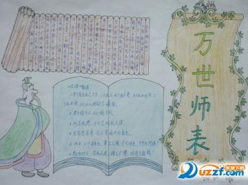 纪念孔子诞辰2565周年手抄报高清免费小学版图片
